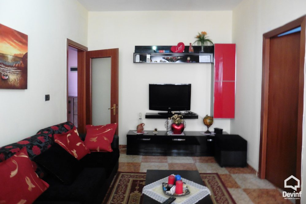 Ne Shitje Apartment 2 bedrooms + livingroom + kitchenette Petro Nini Luarasi Street, near Ballet School Tirane