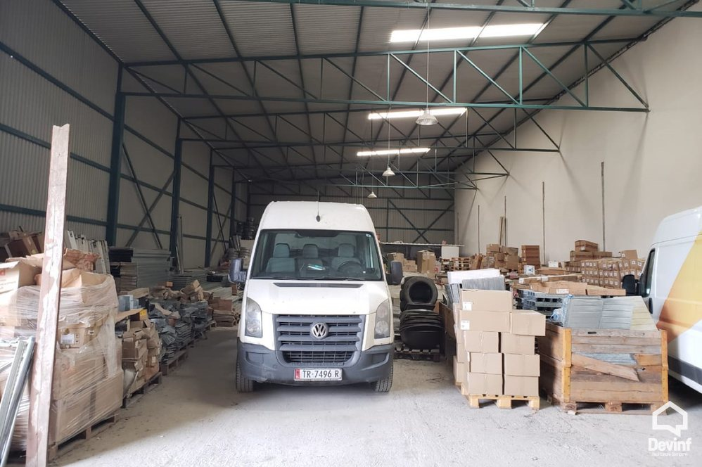 Warehouse For Rent Located 200 m from Elbasani Street, in Berzhit village. Tirane Albania -