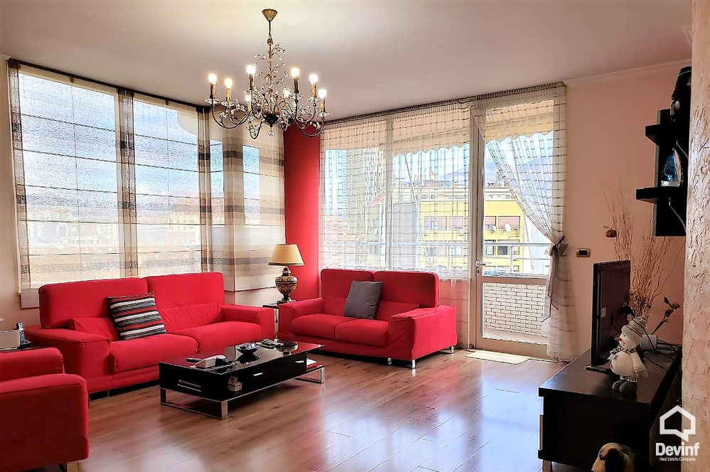 Apartment For Sale Sami Frasheri Street  Tirane Albania - 3 beds + livingroom + kitchen