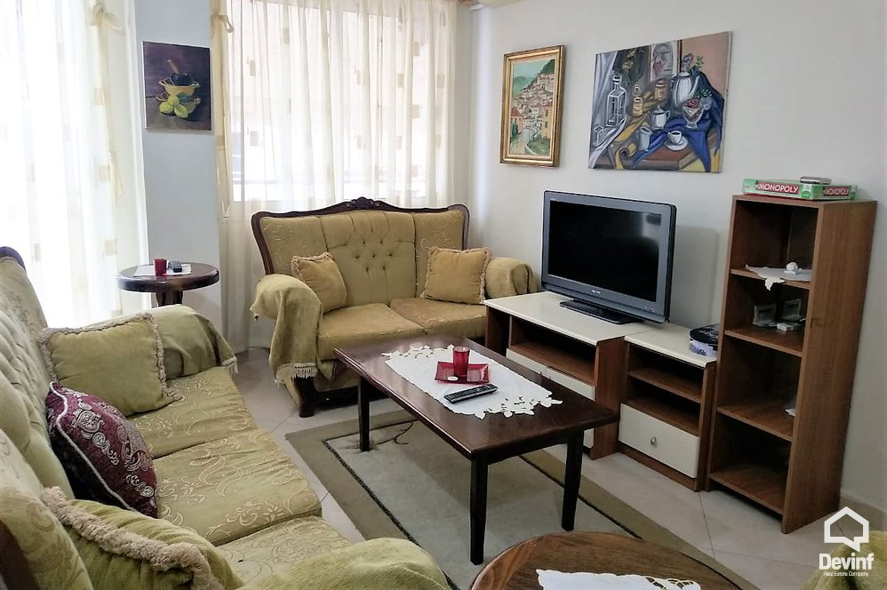 Apartment For Rent 3 Deshmoret Street, Yzberisht Tirane Albania - 2 bedrooms + livingroom + kitchenette