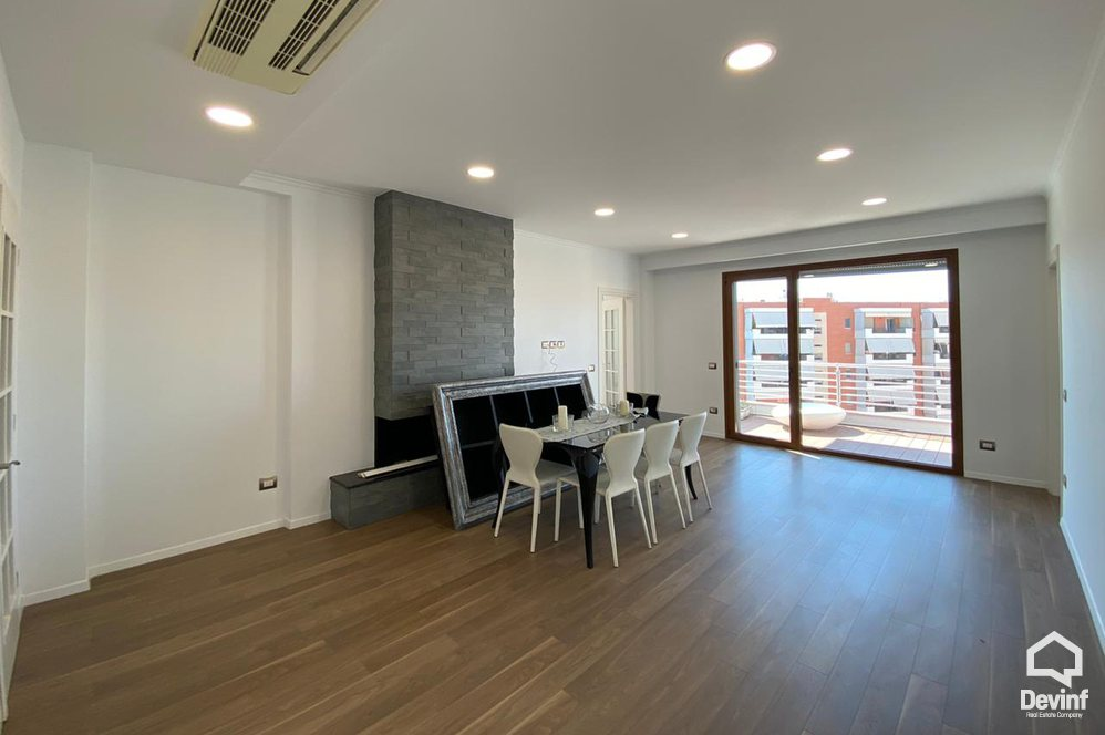 Me Qera Office 4 bed + Office, in a new construction located in Gjergj Fishta Boulevard Tirane