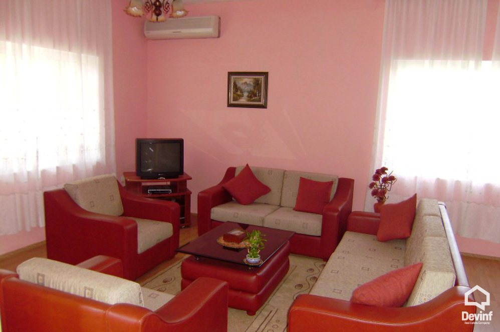 Me Qera Apartment 2 bedrooms + livingroom + kitchen Apartment located in Elbasani Street very near to United States Embassy Tirane