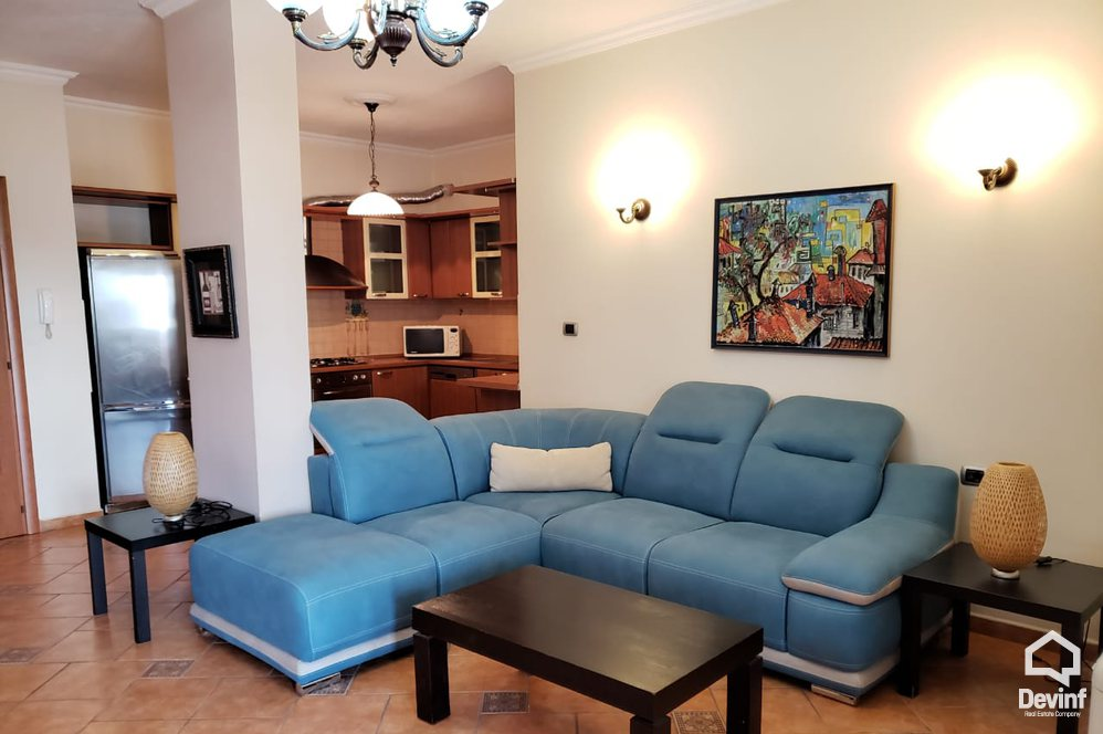 Me Qera Apartment 2 bedrooms + livingroom + kitchenette New apartment located in Blloku area Tirane