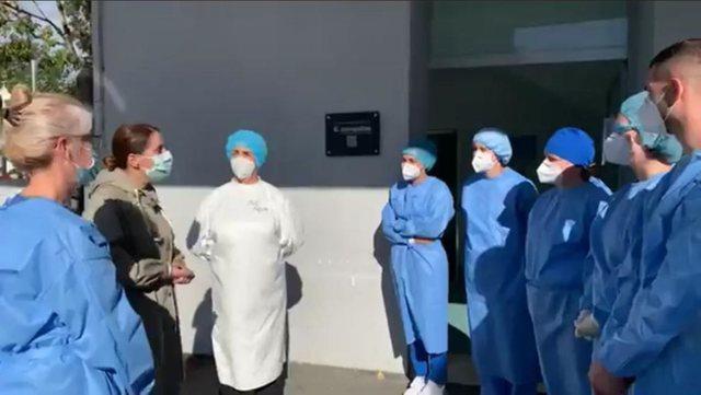 Manastirliu inspekton Spitalin Infektiv: COVID-3 është gati, do hapet