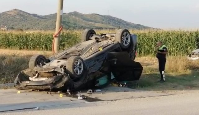 Aksident i rëndë në Elbasan, humb jetën fëmija 3