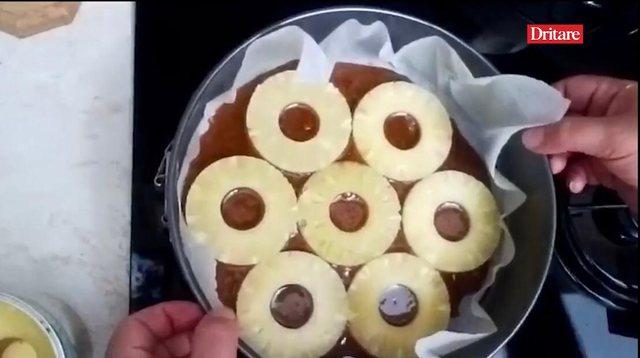 Keku me ananas nga Edlira, ideali për të dielën e Bajramit!