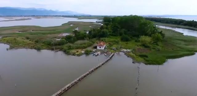 Rama: Laguna e Kune Vainit, falë ndërtimit të