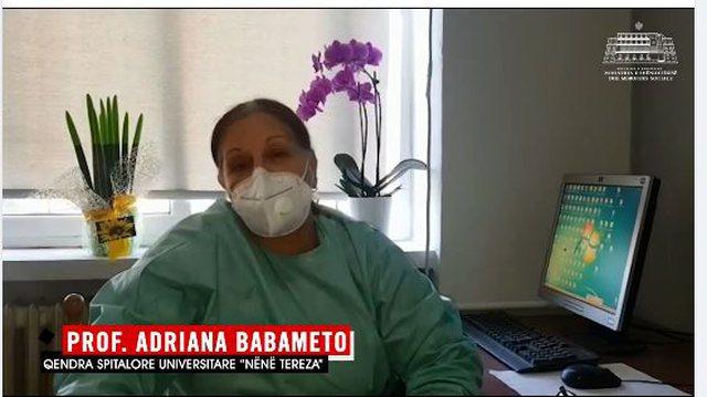 Mjekja Babameto: Nëse e doni vërtet jetën, vendosni maska!