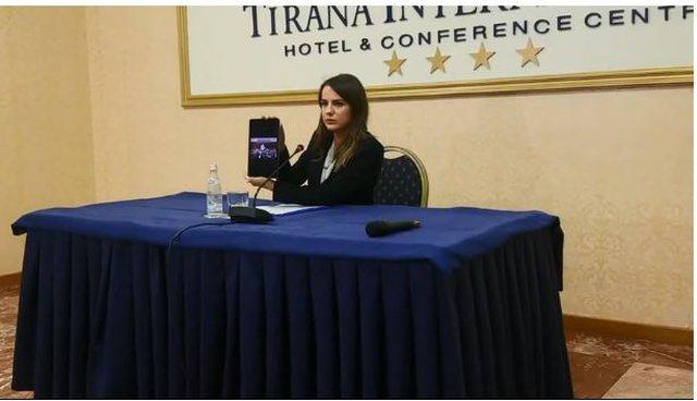 Rudina Hajdari publikon videon: Ja si gënjeu Basha për listat e
