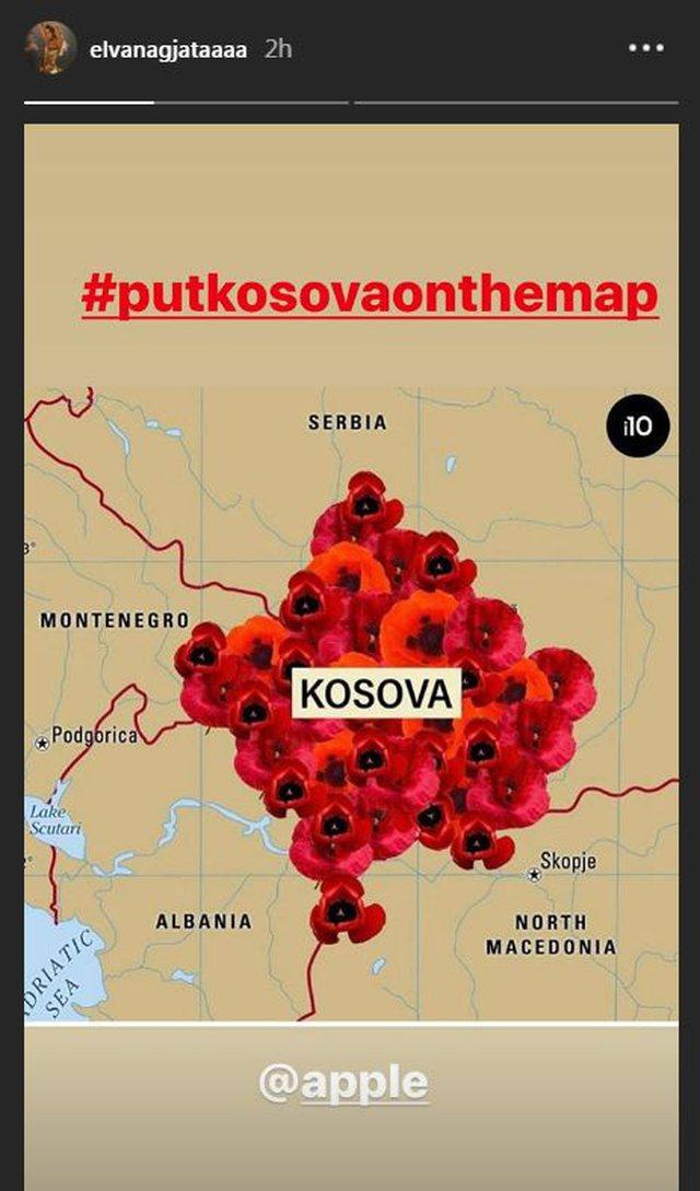 Vendosni Kosovën në hartë/ Peticioni ndaj Apple bën
