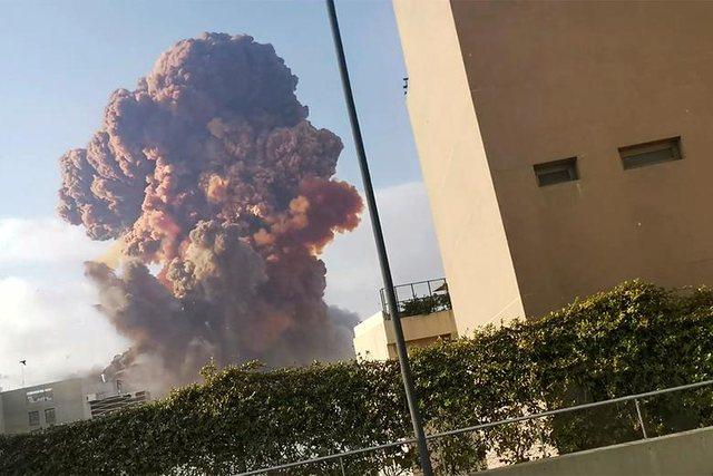 Foto/ Si u shkatërrua Bejruti nga një shpërthim misterioz!