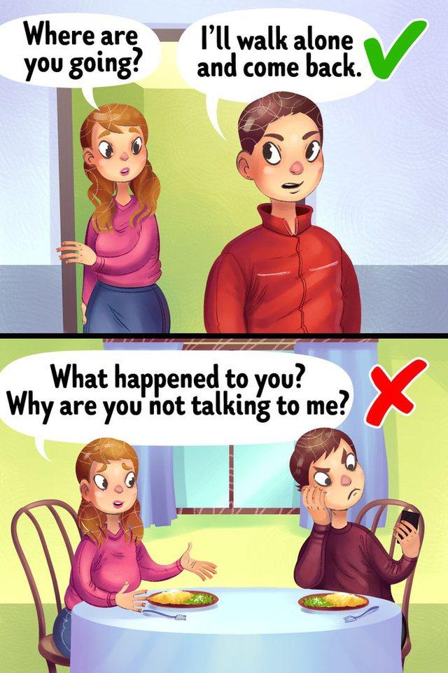 10 situata kur një grua nuk mund ta kuptojë ose falë partnerin e
