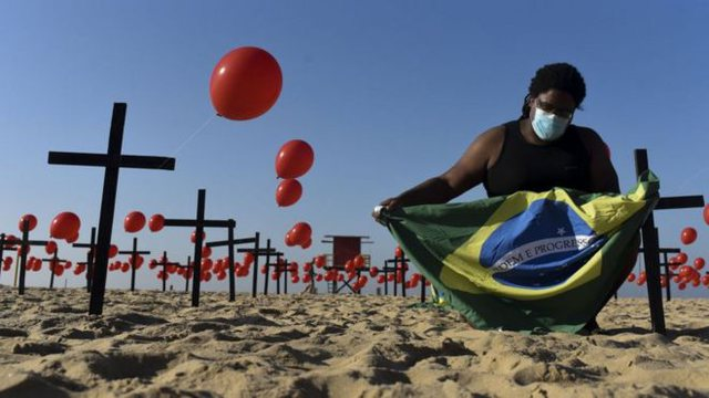 100.000 të vdekur/ Në Brazil virusi vrau për 50 ditë, 50