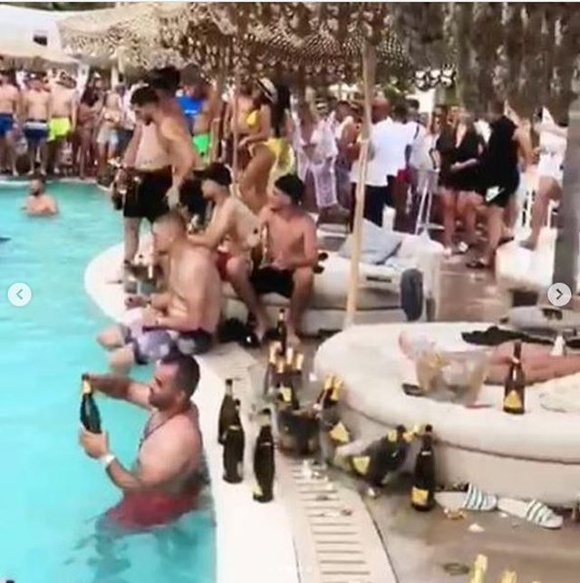 Braçe poston videot nga festat e të rinjve: Boll bëtë