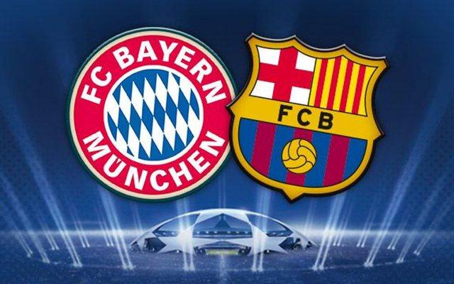 Bajerni gjunjëzon Barcelonën në pjesën e parë!