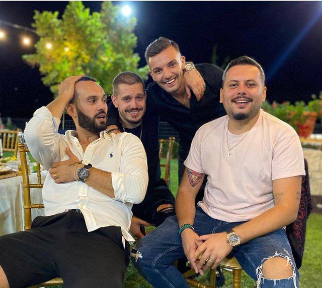 Foto/ E dashura e Olsi Bylykut mbledh bashkë vipat për
