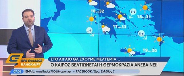 Sinoptikani grek: Këtë fundjavë cikloni i fuqishëm godet