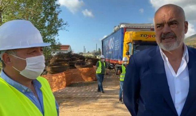 Rama inspekton punimet në Laç: Larg qoftë tërmet