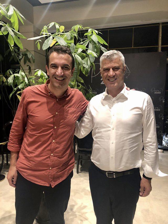 Thaçi takon Veliaj: Puna juaj, shembull për kryetarët e