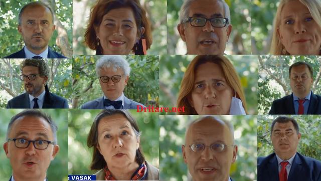 Të gjithë ambasadorët e BE në Shqipëri bëjnë