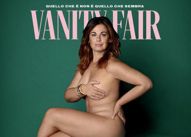Vanessa Incontrada pozon e zhveshur për kopertinën e Vanity Fair: