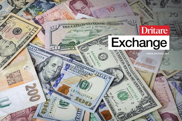 Euroja rritet, dollari bie, ja me sa këmbehet valuta sot!