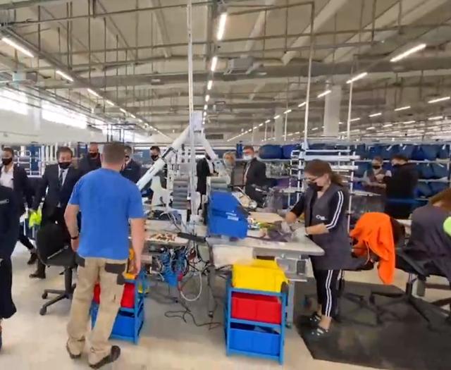 5 mijë vende të reja pune dhe paga të larta/ Brenda fabrikës
