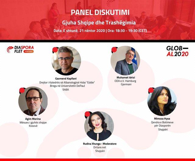 """""""Diaspora flet"""", konferenca virtuale që bashkon figurat më"""