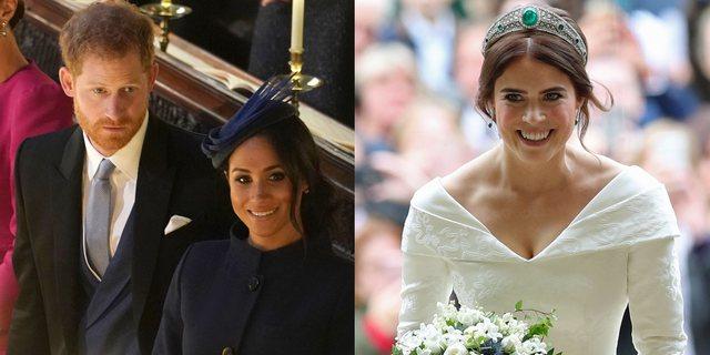 Meghan dhe Harry lejojnë princeshë Eugenian të jetojë