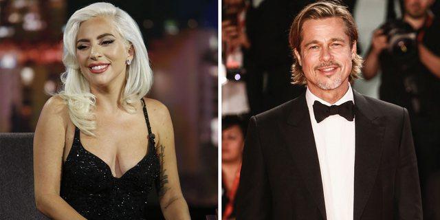 Lady Gaga dhe Brad Pitt, bashkë në një film!