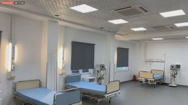 Rritja e infeksioneve/ Gati për t'u hapur edhe spitali e Covid-4