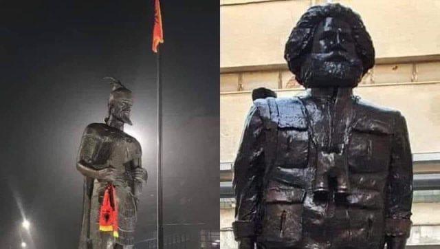 Shëmtia e busteve të heronjve kombëtarë!