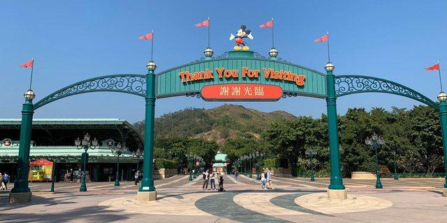Disneyland në Hong Kong mbyllet për herë të tretë