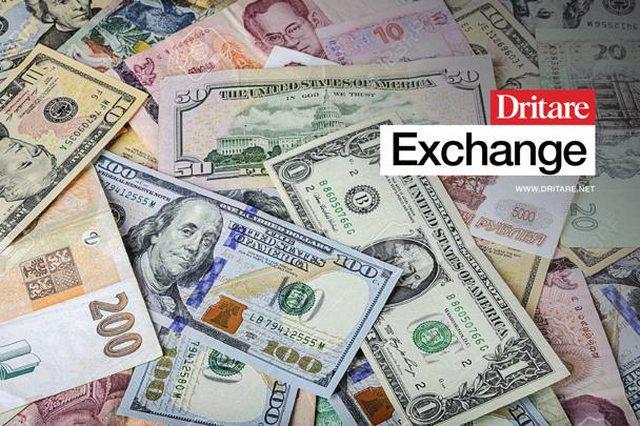 Monedha e huaj në rënie/ Kursi i këmbimit valutor për sot!