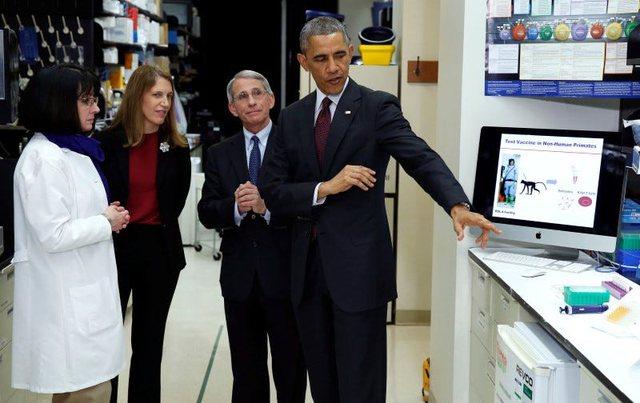 Obama: Nëse Fauci thotë se vaksina është e sigurt, unë