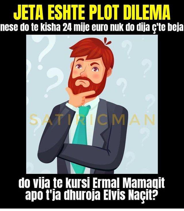 Memet pushtojnë rrjetin për çmimin e trajtimit të Ermal