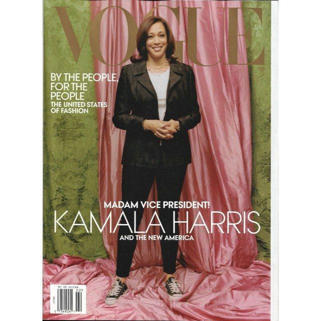 Kamala Harris doli në kopertinën e Vogue, por kjo ishte ëndrra e