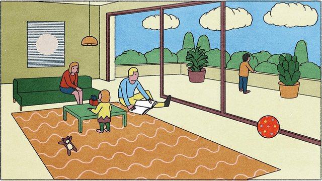Kohë cilësore me fëmijët, apo ne në televizor, ata