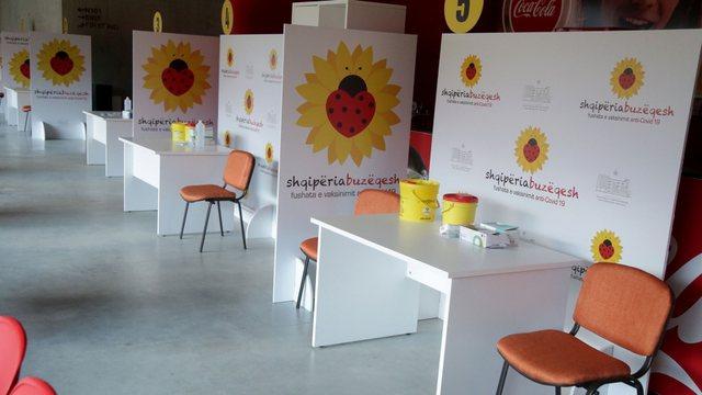 Shqipëria do të vaksinojë 500 punonjës