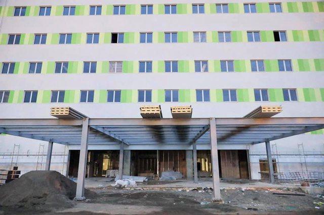Rama publikon fotot nga spitali i  ri i Sëmundjeve të Brendshme