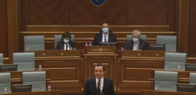 Prezantohet kabineti qeveritar në Kosovë!