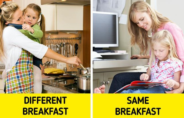 Pse duhet të hani çdo mëngjes të njëjtin ushqim!