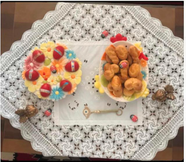 Receta e biskotave të Pashkës!