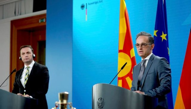 Ministri Maas: Nuk e ndajmë Shqipërinë nga Maqedonia e Veriut