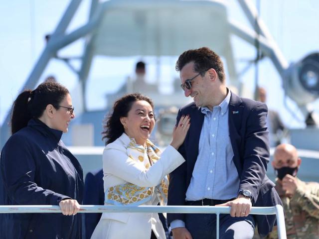 """""""Defender 2021""""/ Veliaj me ambasadoren Kim: Krah për krah"""