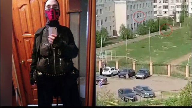 Sulmi në shkollën ruse/ Autori: Jam Zoti, do të çliroj