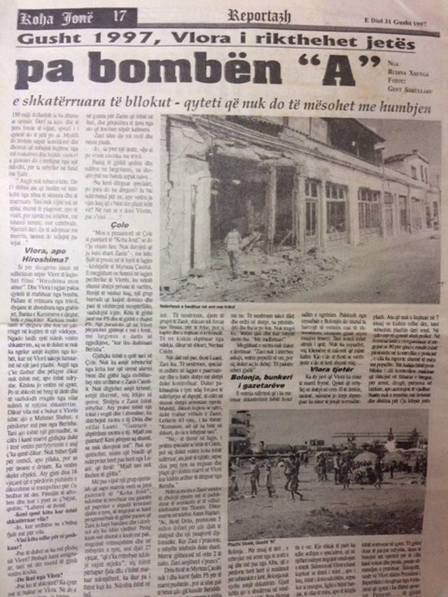Koha Jonë 30 vjet/ Reportazh nga arkiva. Vlora-Hiroshima pa bombën