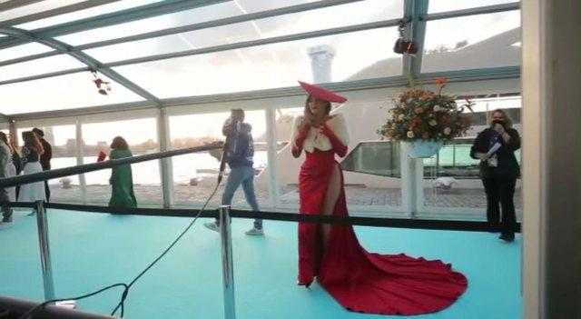 Fotot/ Anxhela Peristeri, ylli shqiptar në Eurovision