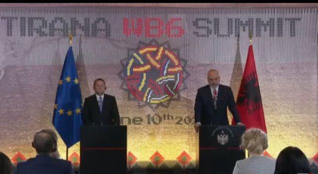 Integrimi/Rama me Komisionerin e BE: Ne i kemi plotësuar detyrat tona. Deri