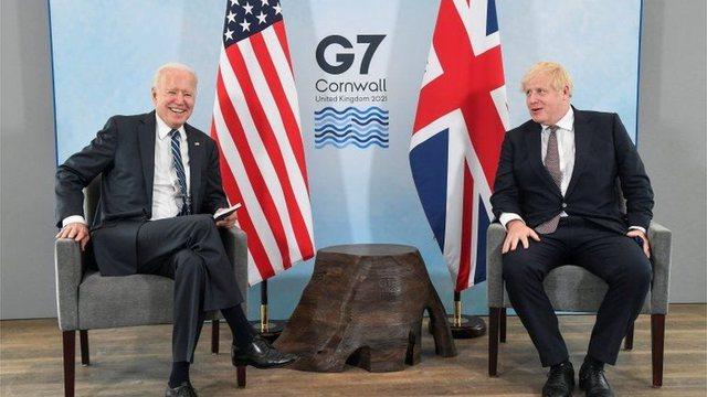 Takimi Biden- Johnson: Aleanca mes SHBA dhe Britanisë,